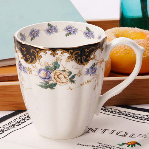 2018 Best selling China manufacturer decal  ceramic mugs with inside printing