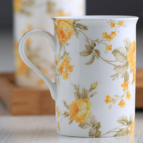 China  manufacturer new bone china 8 oz ceramic mug