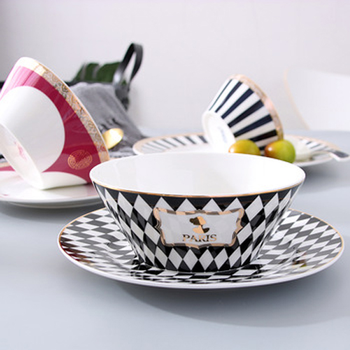 Wholesale china supplier white porcelain bowl customized 6inch ceramic bowl
