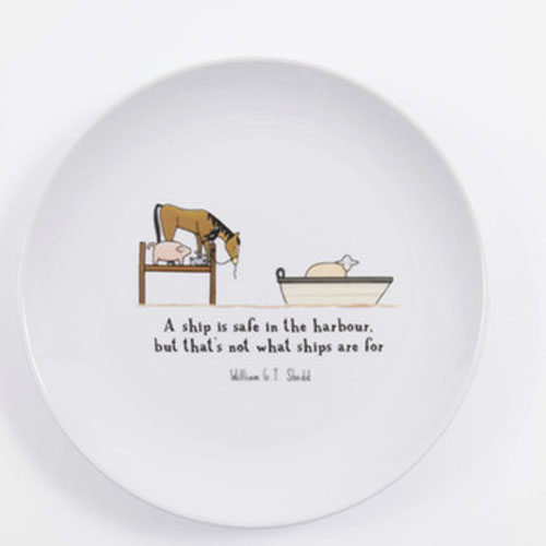 "6""8""10""custom decal printed white porcelain dinner plate"