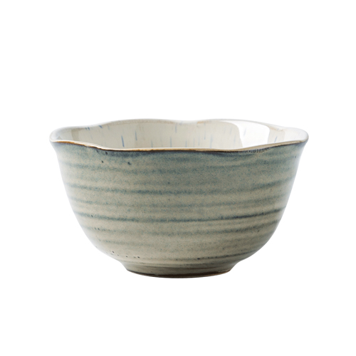 Haute couture bone China tableware ceramic soup bowl