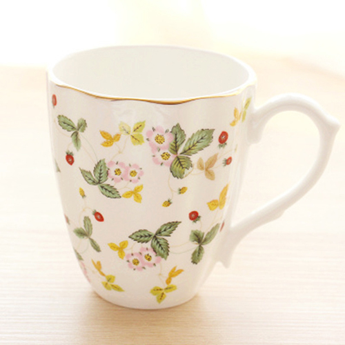 Bone China mug large capacity European coffee mug ceramic mug can be customized